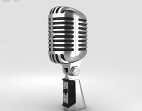 amplifier 3D model Retro Microphone