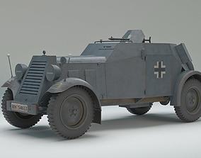 Maschinengewherkraftwagen Adler Kfz 13 1933 3D