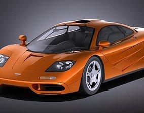 3D McLaren F1 1994-1998 VRAY