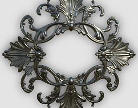 3D Baroque Ornament Decor - 01