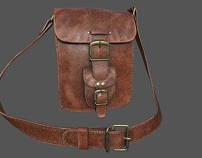 Leather Bag 3D model realtime