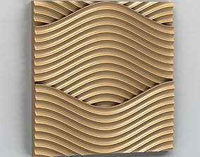 3D Wall panel 013 finishes