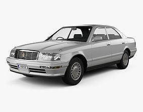 Toyota Crown 1993 3D model