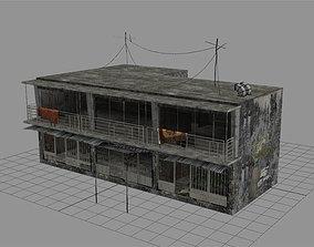 3D model Arab City Building - Building F