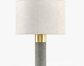 3D model Bianco Cement Table Lamp -Lampara Sobremesa
