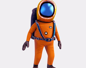 animated Space Engineer 3D