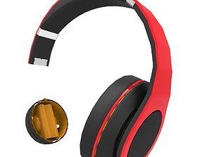 3D model game-ready Headphones