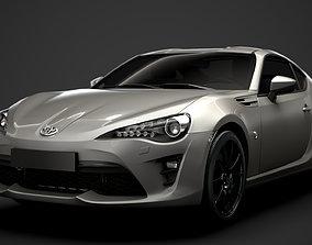 3D model Toyota 86 TRD 2020