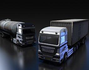 Flat-nose Truck 3D model