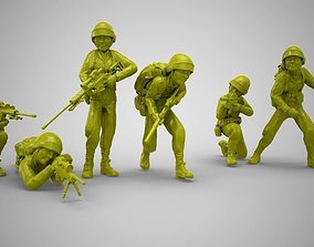 male Toy Soldiers 3D printable model