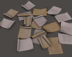 3D asset paper Pack