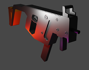3D model realtime Kriss Vector With Individual Part