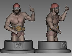 3D printable model Randy Savage Statue
