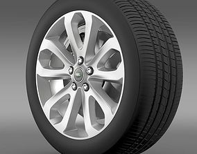 3D model RangeRover Vogue SDV8 wheel