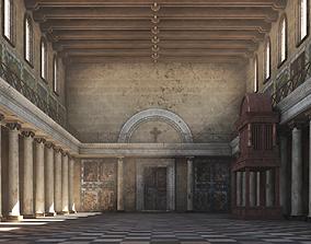 Basilica Corridor 3D model