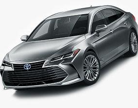 3D Toyota Avalon Hybrid 2019