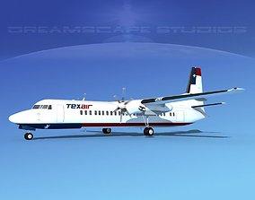 Fokker F-60 Texair 3D