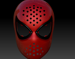 spider SPIDER-MAN MK 1 FACESHELL LENSES 3D FILE