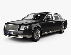 Toyota Century with HQ interior and engine 2018 3D