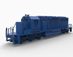 3D printable model train mod2