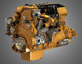 3D CT15 Heavy Duty Truck Engine - 6 Cylinder Diesel Engine