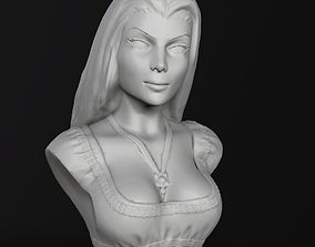 Bust - Lily Munster 3D print model