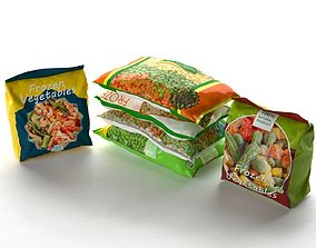 packed Packed Frozen Food 3D