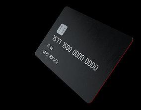 atm Customizable Credit Card 3D