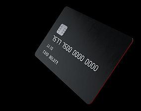 Customizable Credit Card 3D