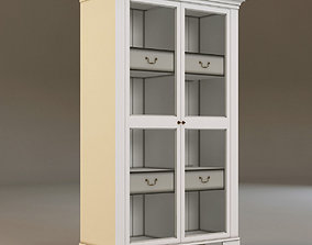 3D model Laura Ashley bookcase 2