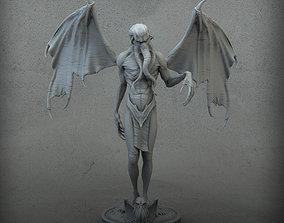 Cthulhu Humanoid 3D printable model