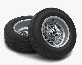 Avon CR6 ZZ - Borrani rims 3D model
