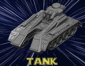 vehicle Future Tank 3D print model