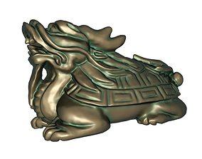 3D print model Dragon Turtle