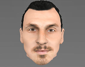 Zlatan Ibrahimovic character 3D