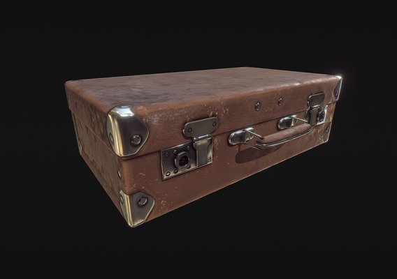 Legacy Works - Weathered Suitcase