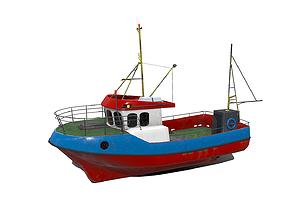 3D model Fishing Boat PBR