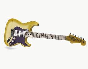 Guitar01 3D asset