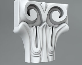 3D Pilaster Capitals center