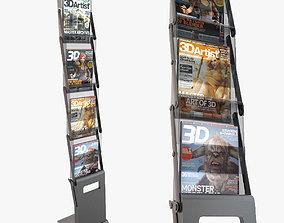 3D Folding Brochure Stand 2