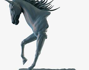 resin Horse Statue 3D print model