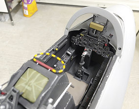 3D print model Hawker Hunter Cockpit Parts
