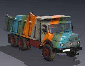 Mercedes L2624 Dumper truck 3D model