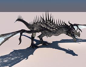 Dragon 3d 3D rigged