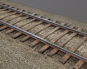 3D model Old Railway