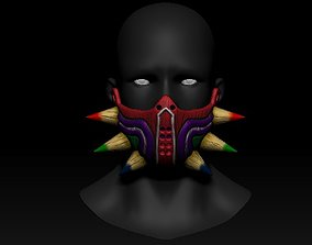 Quarantine Mask Majoras Mask Style 3D printable model