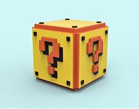 3D print model Mario Question cube