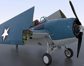 3D model GRUMMAN F4F-4 9-GF-7