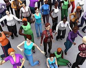 animated 3DRT - Realpeople Females