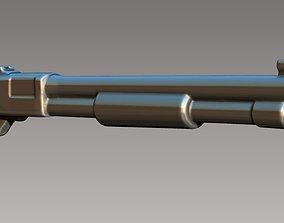 Pump shotgun 3D printable model